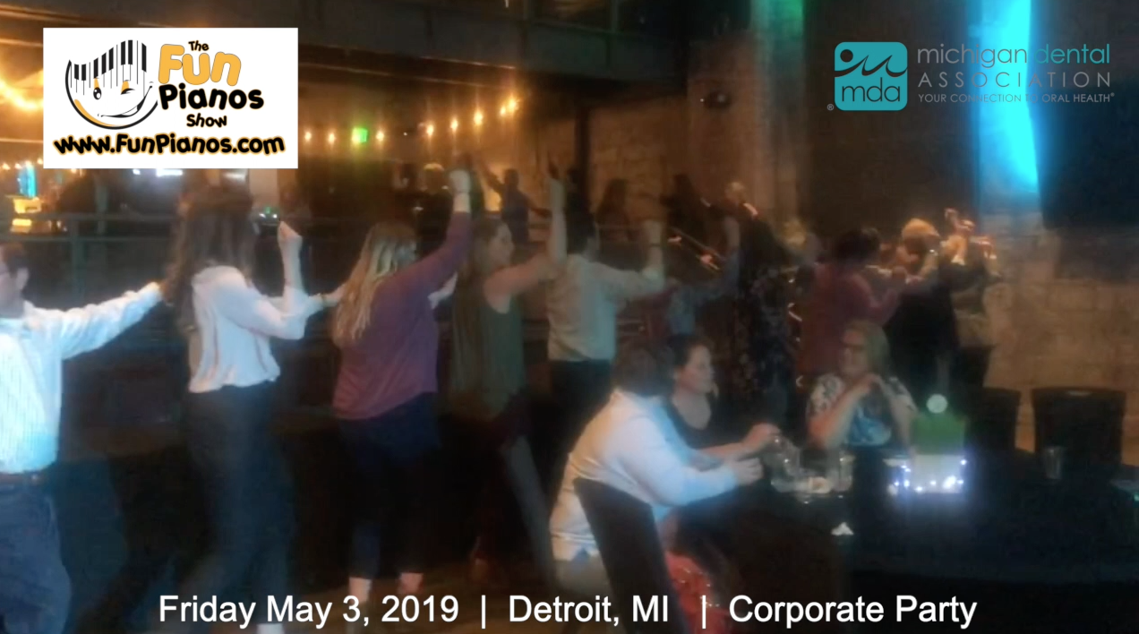 Fun Pianos! Dueling Pianos show in Detroit, MI 5/3/2019