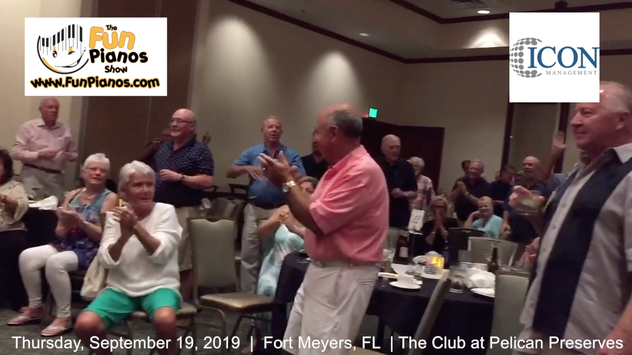 Fun Pianos! Dueling Pianos show in Fort Myers, FL 9/19/2019