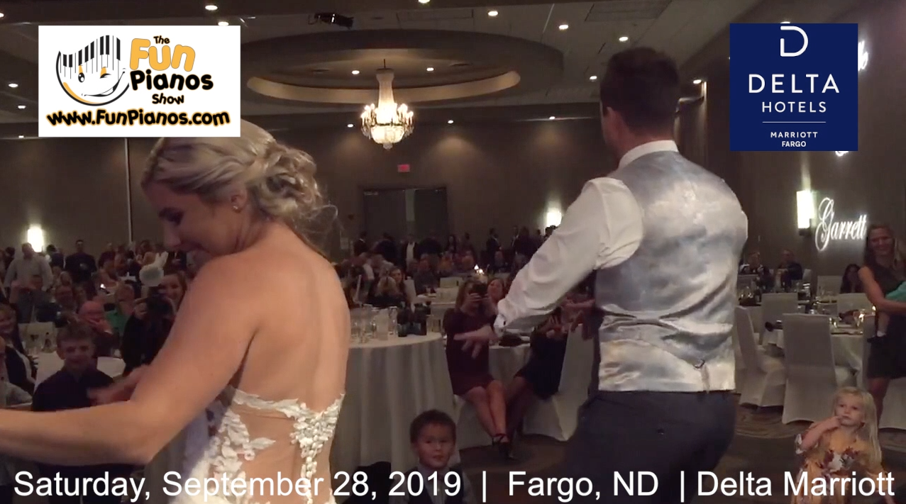 Fun Pianos! Dueling Pianos show in Fargo, ND 9/28/2019