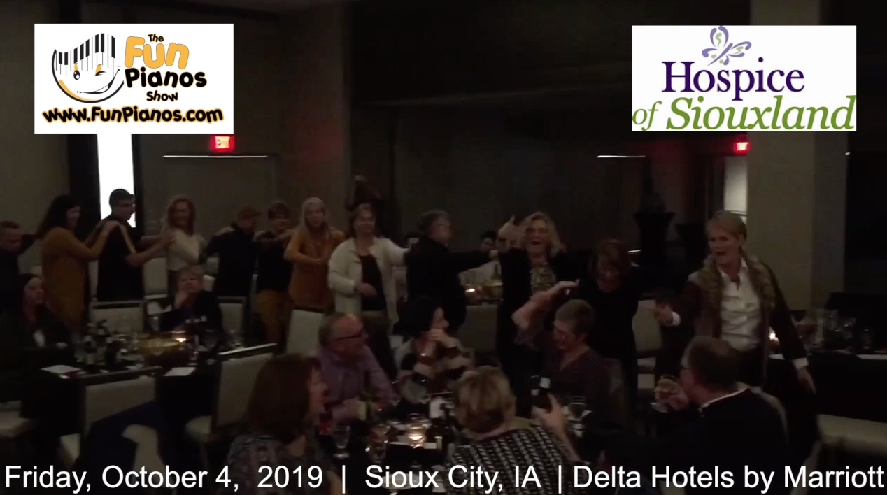 Fun Pianos! Dueling Pianos show in Sioux City, IA 10/04/2019