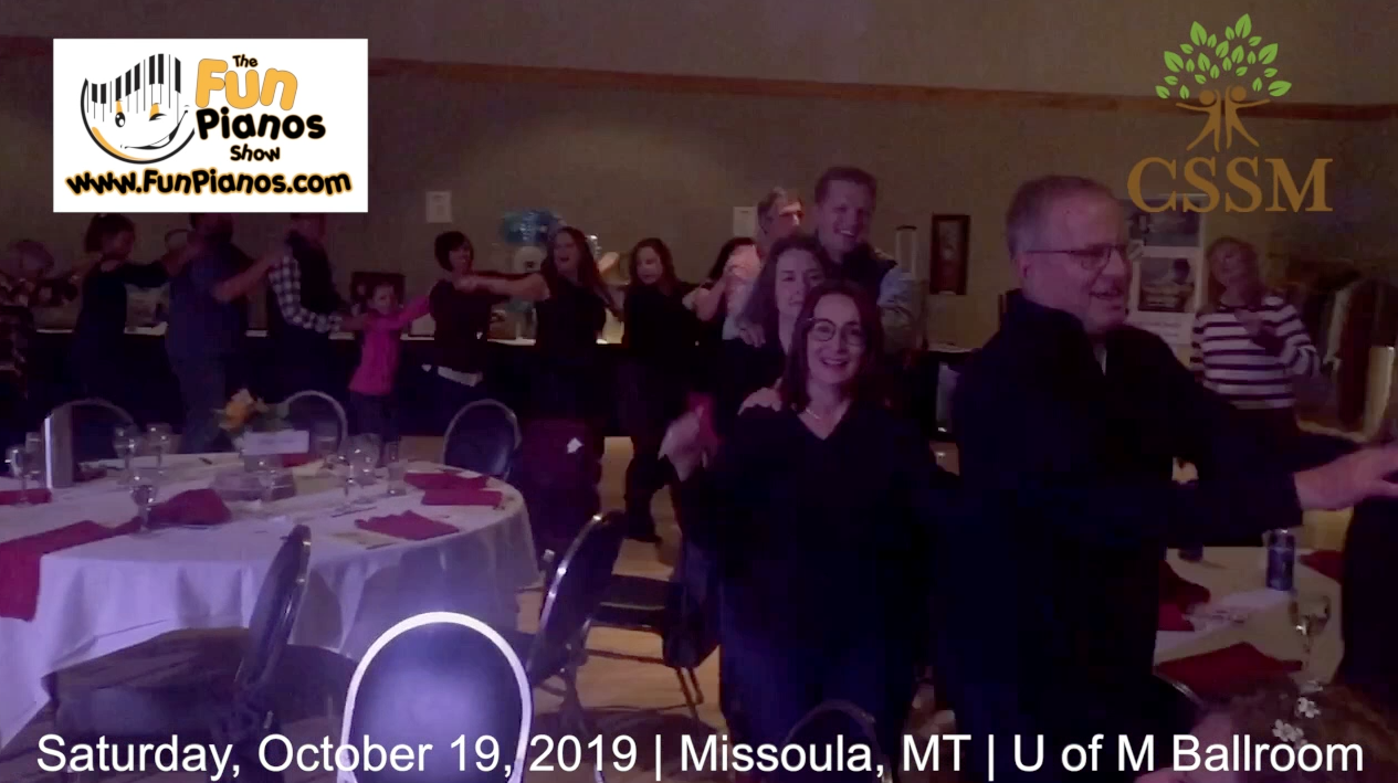 Fun Pianos! Dueling Pianos show in Missoula, MT 10/19/2019