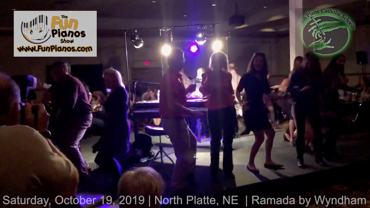 Fun Pianos! Dueling Pianos show in North Platte, NE 10/19/2019