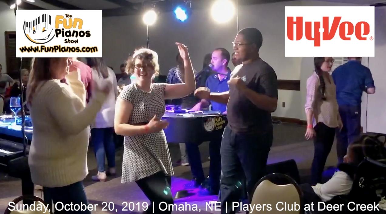 Fun Pianos! Dueling Pianos show in Omaha, NE 10/20/2019