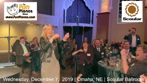 Fun Pianos! Dueling Pianos show in Omaha, NE 12/7/2019
