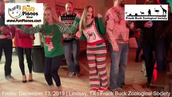 Fun Pianos! Dueling Pianos show in Lindsay, TX 12/13/2019