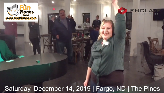 Fun Pianos! Dueling Pianos show in Fargo, ND 12/14/2019