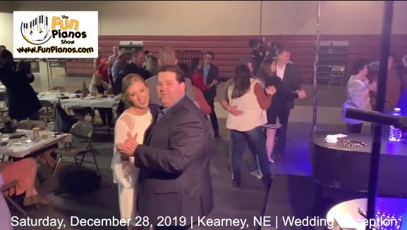 Fun Pianos! Dueling Pianos show in Kearney, NE 12/28/2019