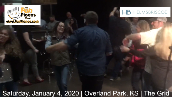 Fun Pianos! Dueling Pianos show in Overland Park, KS 1/4/2020