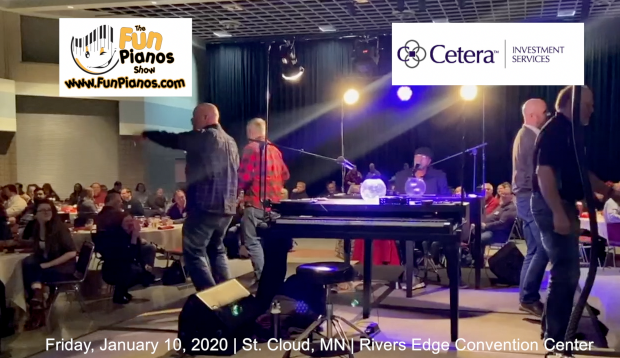 Fun Pianos! Dueling Pianos show in St. Cloud, MN 1/10/20