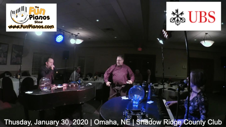 Fun Pianos! Dueling Pianos show in Omaha, NE 1/30/20
