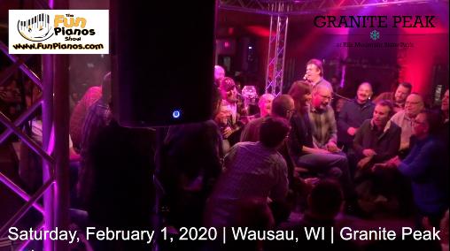 Fun Pianos! Dueling Pianos show in Wausau, WI 2/1/20