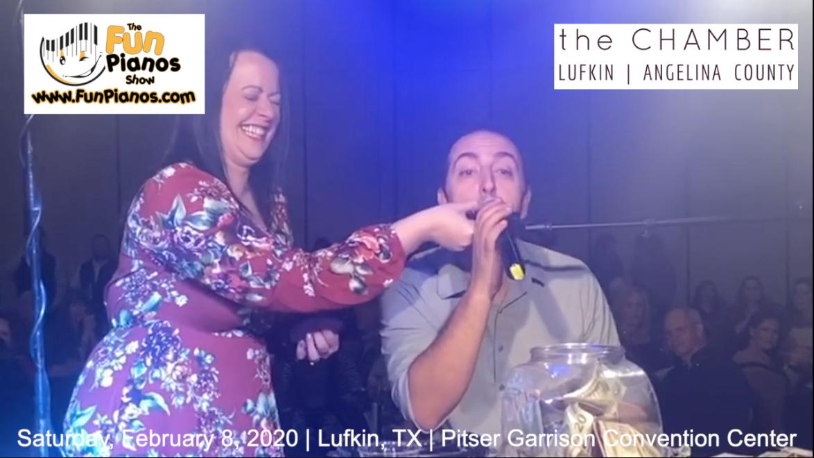 Fun Pianos! Dueling Pianos show in Lufkin, TX 2/8/20