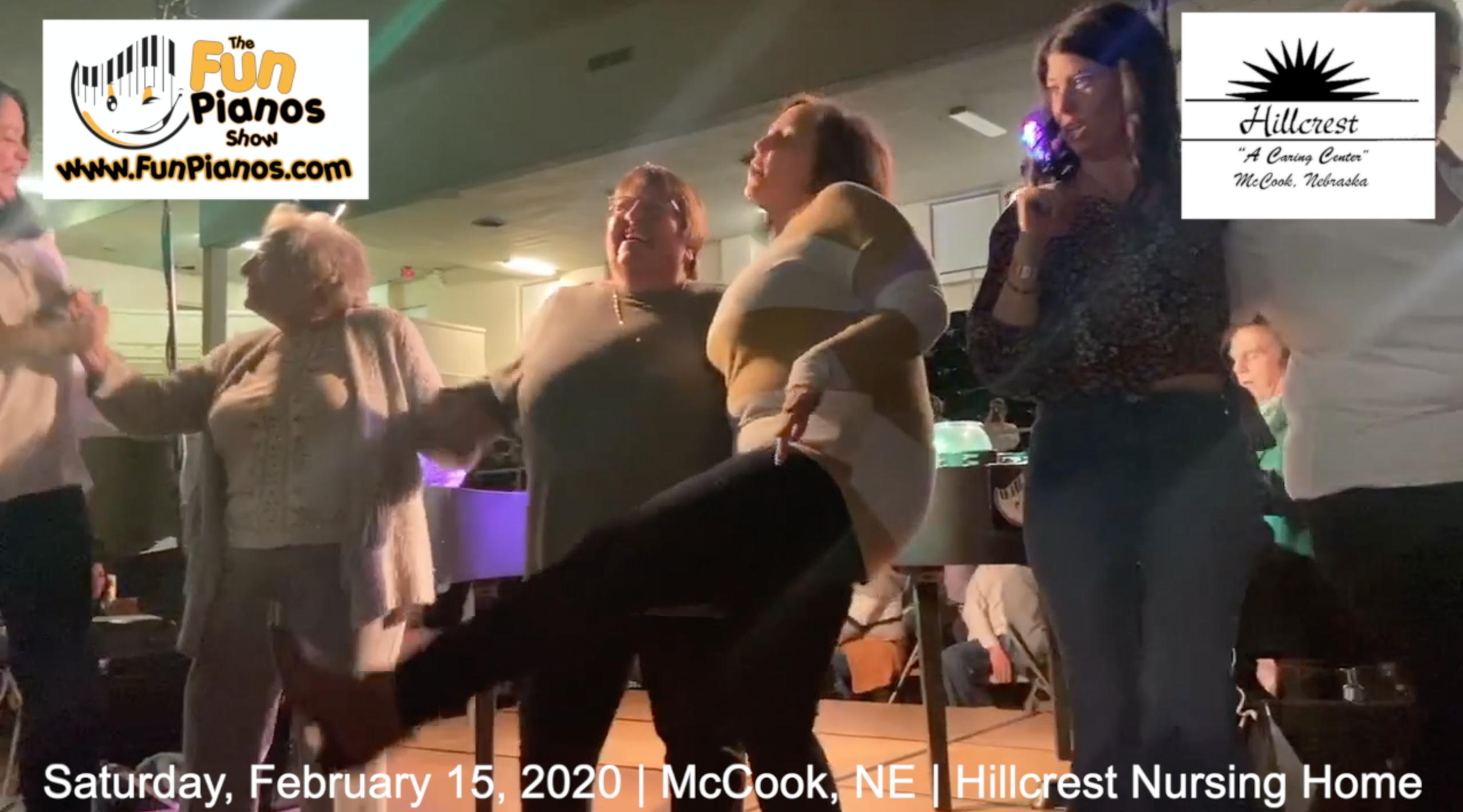 Fun Pianos! Dueling Pianos show in McCook, NE 2/15/20